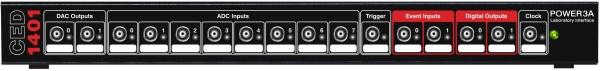 Power1401 front panel Digital I/O